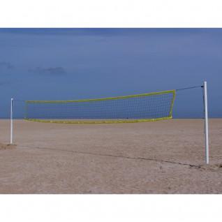 Poteaux de beach volley Alu avec embase Sporti France
