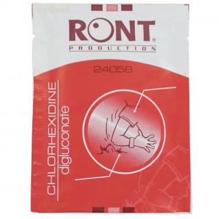 Lot de 10 serviettes Chlorhexidine Sporti France