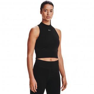 T-shirt femme Under Armour court sans coutures rush
