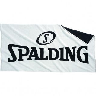 Serviette de bain Spalding blanc/noir