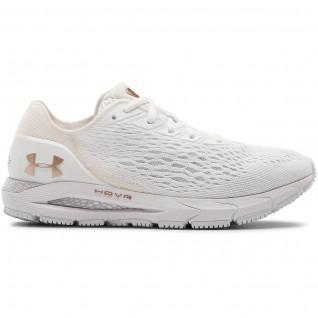 Chaussures de running femme Under Armour HOVR Sonic 3 Metallic