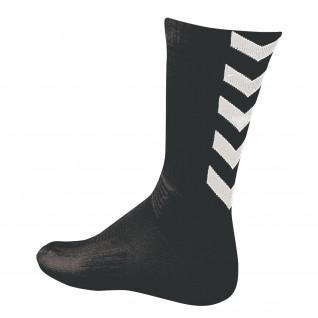 Chaussettes Hummel Authentic Indoor  - Noir/Blanc