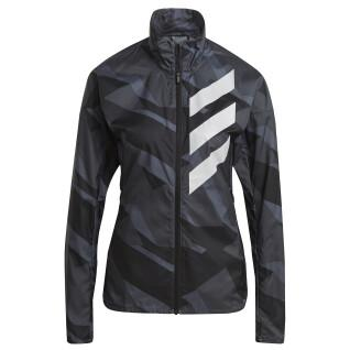 Veste coupe-vent femme adidas Terrex Parley Agravic Trail Running