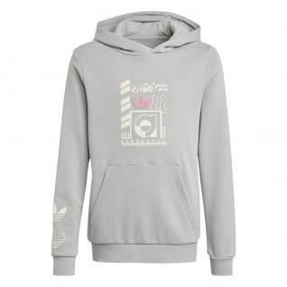 Sweatshirt à capuche enfant adidas Originals Graphic Print