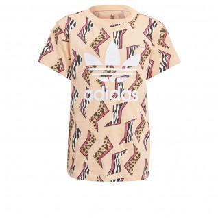 T-shirt kid adidas Originals All-Over Print
