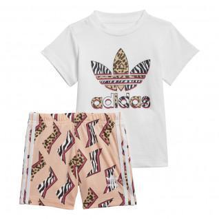 Ensemble baby adidas Originals Graphic Set
