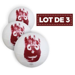 Lot de 3 Ballons Beach-Volley Wilson Seul au monde