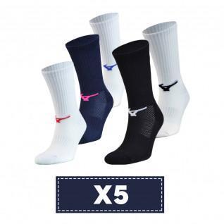 Lot de 5 chaussettes Mizuno Multisports