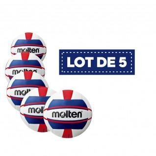 Lot de 5 Ballons femme Beach-volley V5B1500