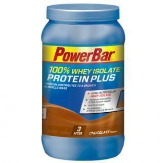 Poudre PowerBar ProteinPlus 100 % Whey Isolate - Chocolate Deluxe (570gr)