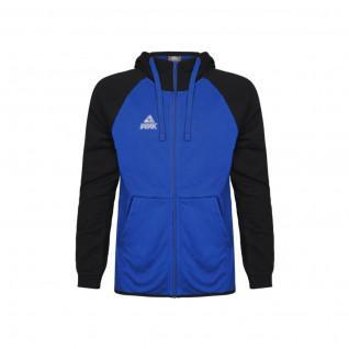 Sweatshirt enfant Peak zip bi-color élite
