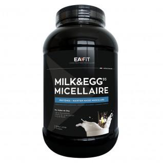 Milk & Egg 95 Micellaire vanille EA Fit 2,2kg