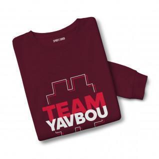 Sweatshirt mixte #TeamYavbou