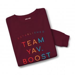 Sweatshirt mixte Team Yav Boost 19