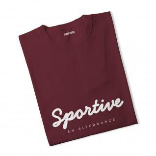 T-shirt femme Sportive en alternance