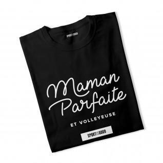 T-shirt femme Maman parfaite et volleyeuse