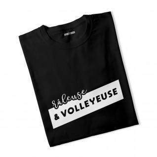 T-shirt femme Râleuse et volleyeuse