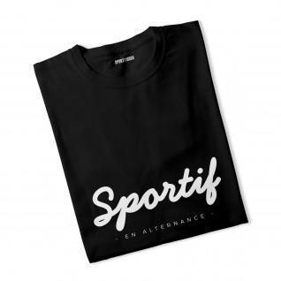 T-shirt Sportif en alternance