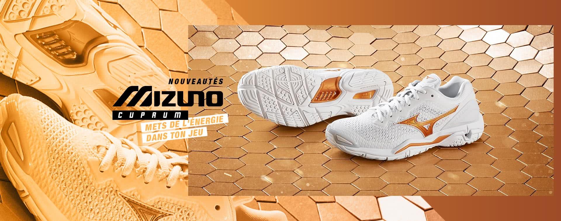 Nouvelles chaussures Mizuno Cuprum