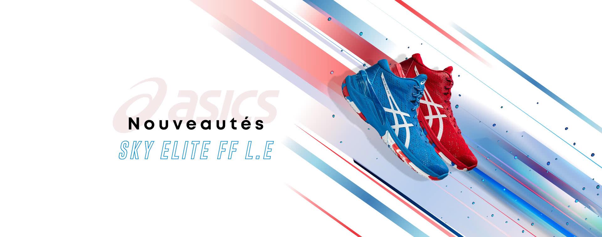Nouvelles chaussures Asics Sky Elite
